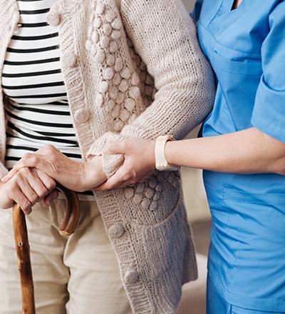 Les soins infirmiers à domicile